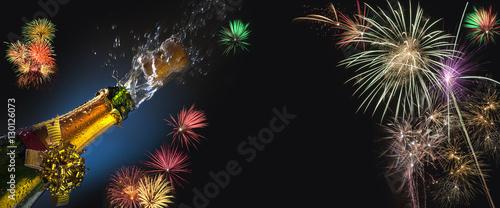 Fotografia  Celebration - Fizz and Fireworks