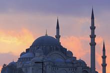 Suleymaniye Mosque, Eminonu And Bazaar District, Istanbul, Turkey