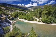 River Verdon, Gorge Du Verdon, Provence, France