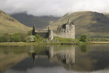 Kilchurn castle, near Loch Awe, Highlands, Scotland, United Kingdom, Europe - 130165602