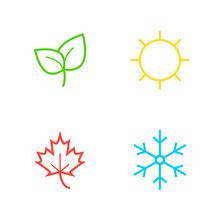 Vector Season Icons