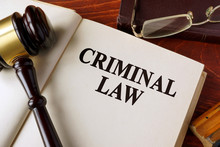 Book With Title Criminal Law O...