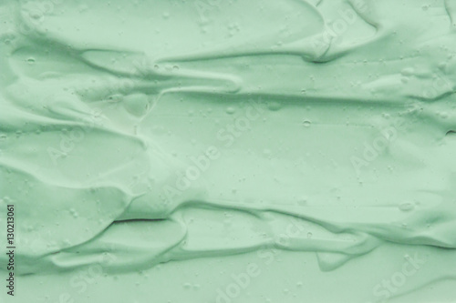 Photo Stands Abstract wave the texture of the clay mask for the face and body.