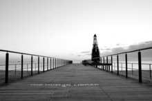 Christmas Tree On Pier In The ...