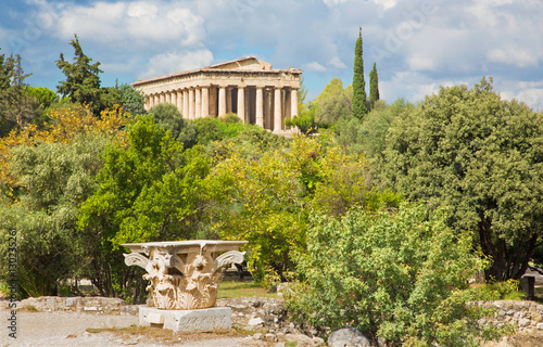 Photo  Athens - Temple of Hephaestus.