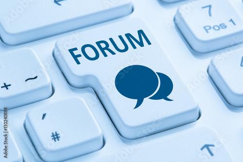 Photo  Forum Kommunikation Community Internet Blog Medien Button drück