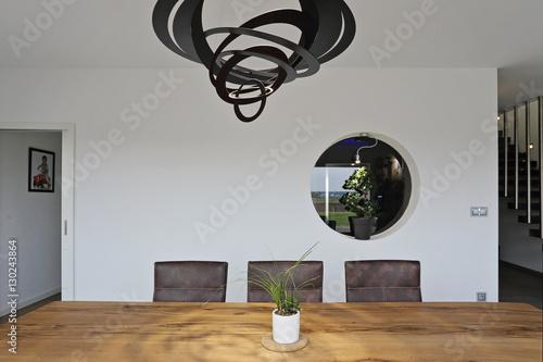 intérieur salon salle à manger contemporain – kaufen Sie dieses Foto ...