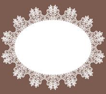 White Lace Napkin