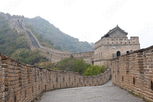 Great Wall of China, UNESCO World Heritage Site, Mutianyu, China, Asia Poster