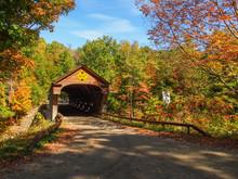 Upper Falls Bridge, Weathersfield, Vermont