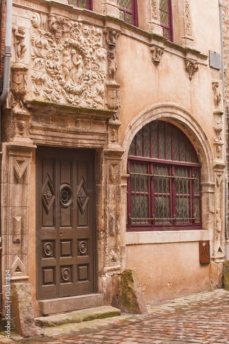 La Maison d'Adam et Eve in the old town of Le Mans, Sarthe, Pays de la Loire, France, Europe