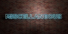 MISCELLANEOUS - Fluorescent Ne...