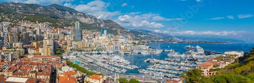 Fotografía  Monaco Monte Carlo city panorama