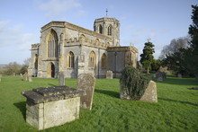 Church Of St. Peter And St. Paul, The Cathedral Of The Moors With Octagonal Tower, North Curry, Somerset Levels And Moors, Somerset