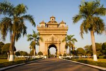 Patuxai, (Victory Gate), A Replica Of Arc De Triomphe, Vientiane, Laos