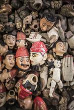 Puppet Heads, Part Of Making Puppets, Mandalay, Mandalay Region
