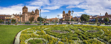 Cusco Cathedral (Basilica Of The Assumption Of The Virgin) And La Compania (Church Of The Society Of Jesus), Plaza De Armas, Cusco, Peru