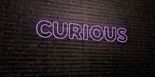 CURIOUS -Realistic Neon Sign O...