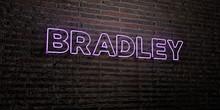 BRADLEY -Realistic Neon Sign O...