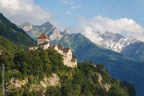 Vászonkép  Vaduz castle in the capital of Liechtenstein