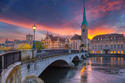 Fotografie, Obraz  Zurich