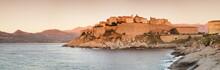 Citadel At Sunset, Calvi, Balagne, Corsica, France, Mediterranean