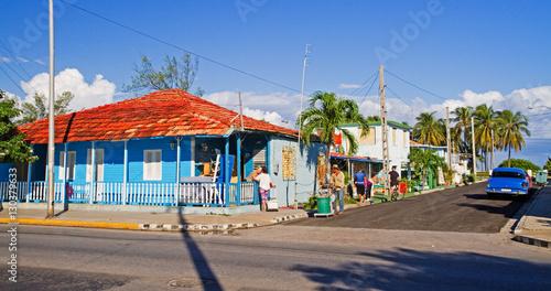 Foto auf Gartenposter Karibik street in varadero, cuba
