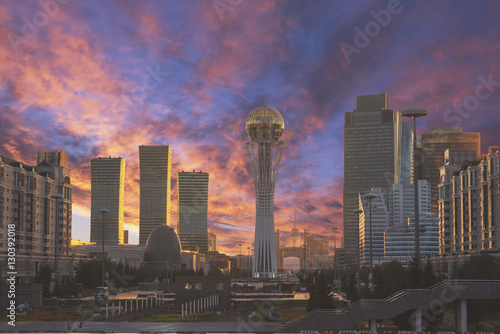 Astana Kazakhstan sightseeing Wallpaper Mural
