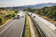 Highway near Villajoyosa. Province of Alicante. Spain