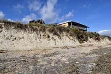 Beach Erosion Caused By Hurric...