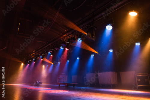 A Hazy Stage Canvas Print