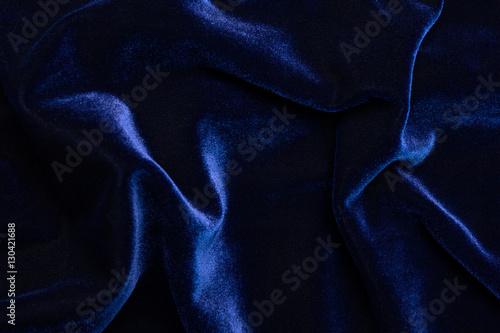 blue velvet texture. Beautiful Luxury Dark Blue Velvet Texture Background Cloth.