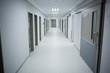 View of empty corridor