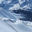 winter in den Bergen Europas Alpen