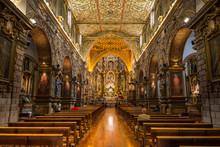 Interior Of San Francisco Chur...
