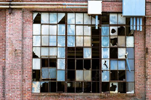 Papiers peints Les vieux bâtiments abandonnés Abandoned Building in an Area of Urban Decay