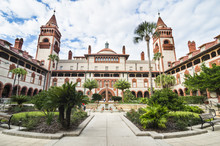 Flagler Liberal Arts College, St. Augustine, Oldest Continuously Occupied European-established Settlement, Florida