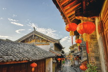 In The Mornings, Lijiang Is Mo...