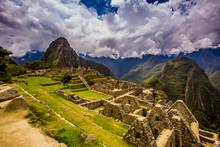 Machu Picchu Incan Ruins, Sacred Valley, Peru