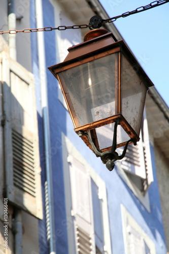 Lamp in Apt village Provence France Wallpaper Mural