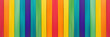 Fence wooden rainbow colorful for wooden textured background use