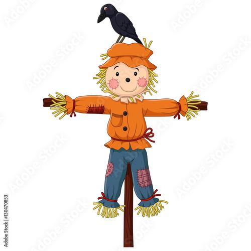 Fotografie, Obraz Scarecrow cartoon