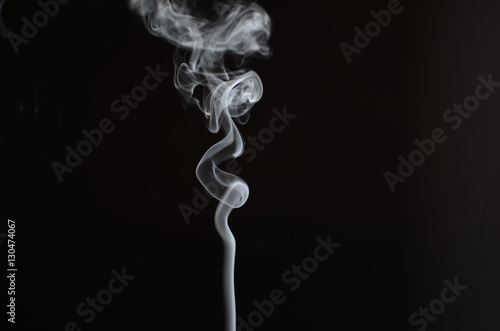 Foto op Aluminium Rook Absrtact Art with Smoke
