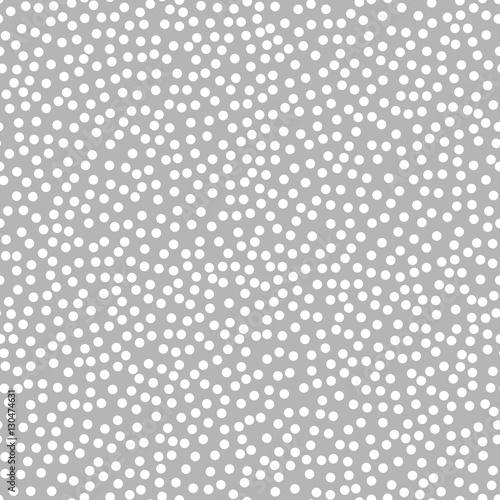 Seamless Grey Polka Dot Pattern Seam Free Polkadot Wallpaper