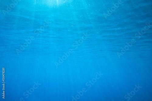 Keuken foto achterwand Fractal waves underwater