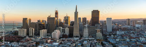 Downtown of San Francisco Wallpaper Mural
