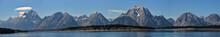 Panorama Of Teton Range