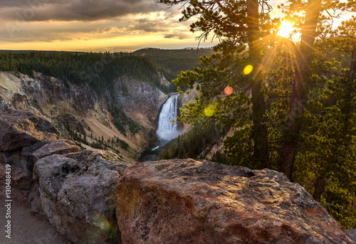 Fotografie, Obraz Grand Canyon of Yellowstone National Park, USA