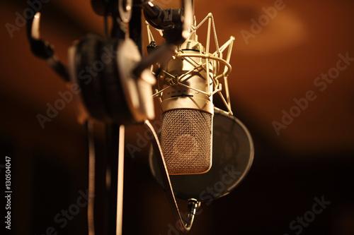 Láminas  microphone