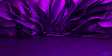 Purple Background With Swaying...